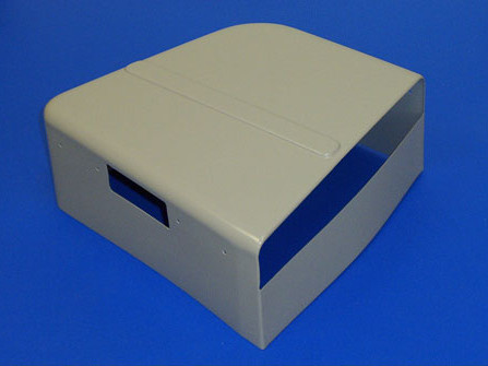Vacuum Formed Plastic Case Component