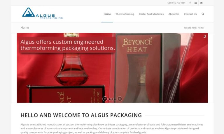 Algus Packaging
