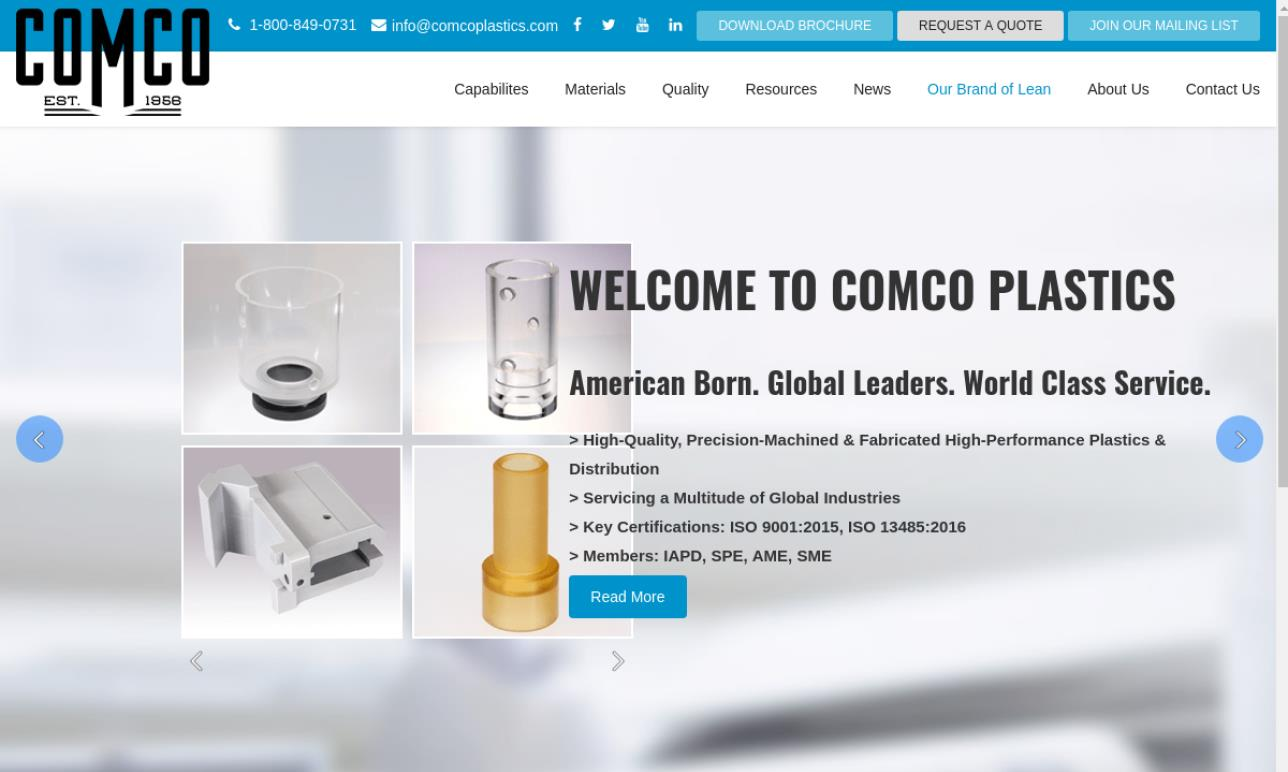 Comco Plastics, Inc.