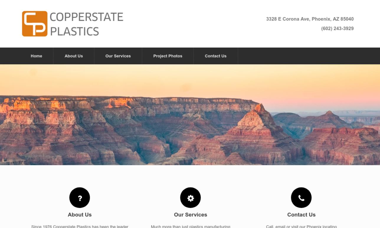 Copperstate Plastics Inc.