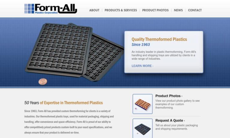 Form-All Plastics Corporation