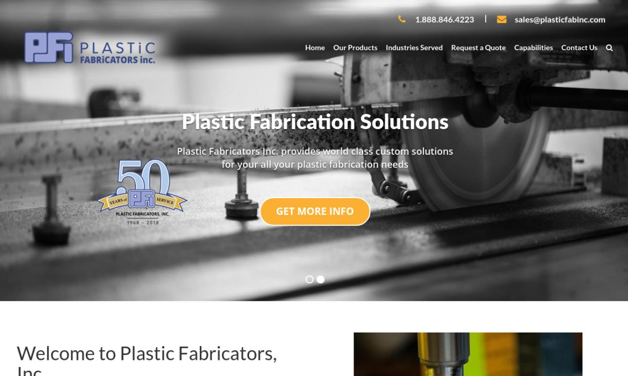Plastic Fabricators, Inc.