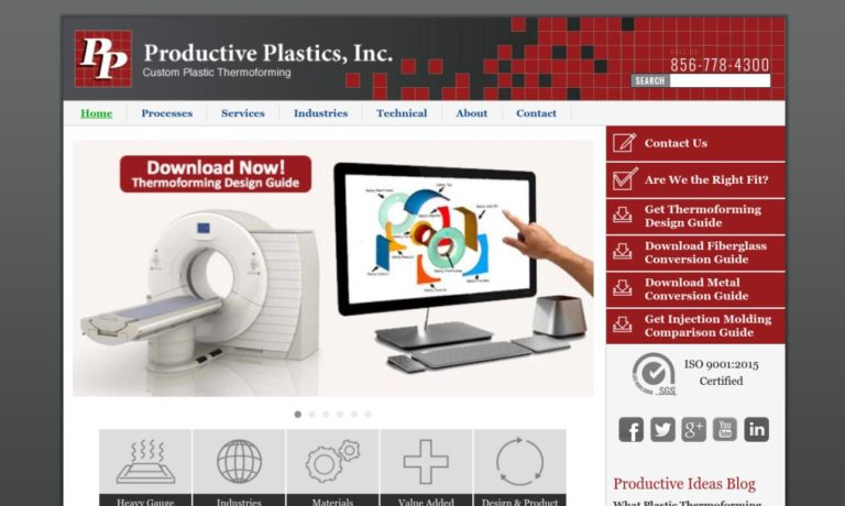 Productive Plastics, Inc.