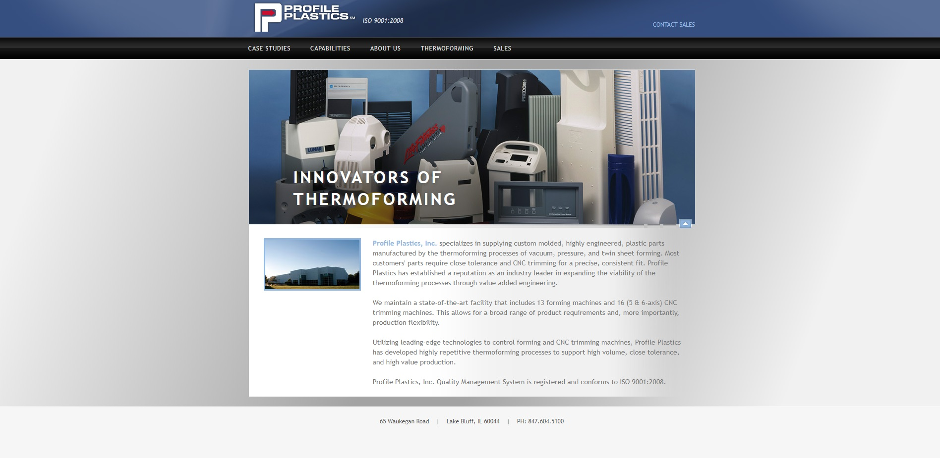 Profile Plastics, Inc.