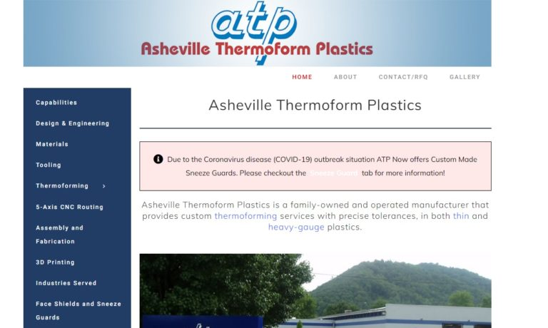 Asheville Thermoform Plastics, Inc.